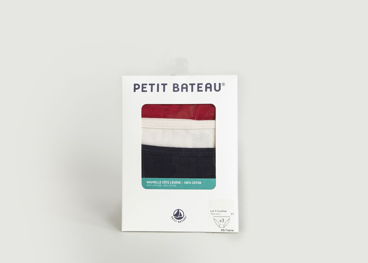 Lot 3 Culottes - Petit Bateau