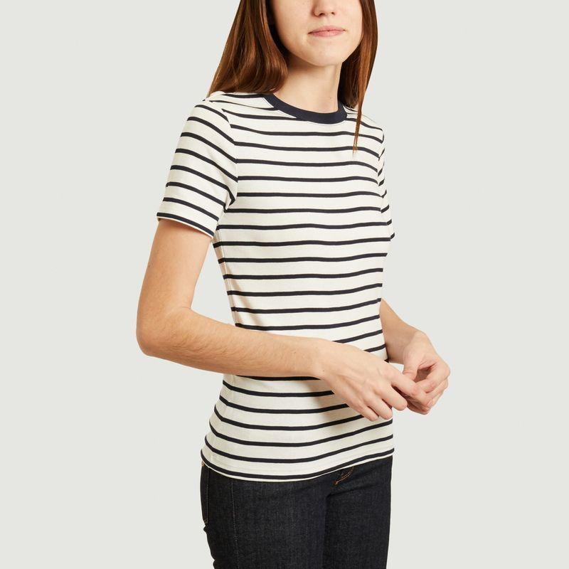 T-shirt col rond rayé iconique - Petit Bateau