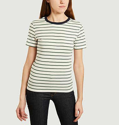 Iconic round-neck striped T-shirt