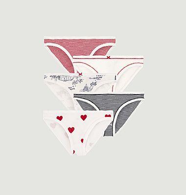 Weekly 5 panties