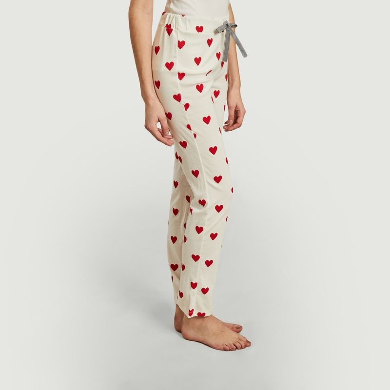 Pantalon coeurs - Petit Bateau