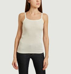 Tank top with shoulder straps