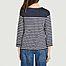 T-shirt marinière manches longues en coton - Petit Bateau