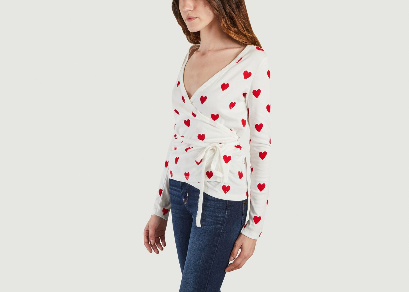 Cache coeur motifs coeur - Petit Bateau