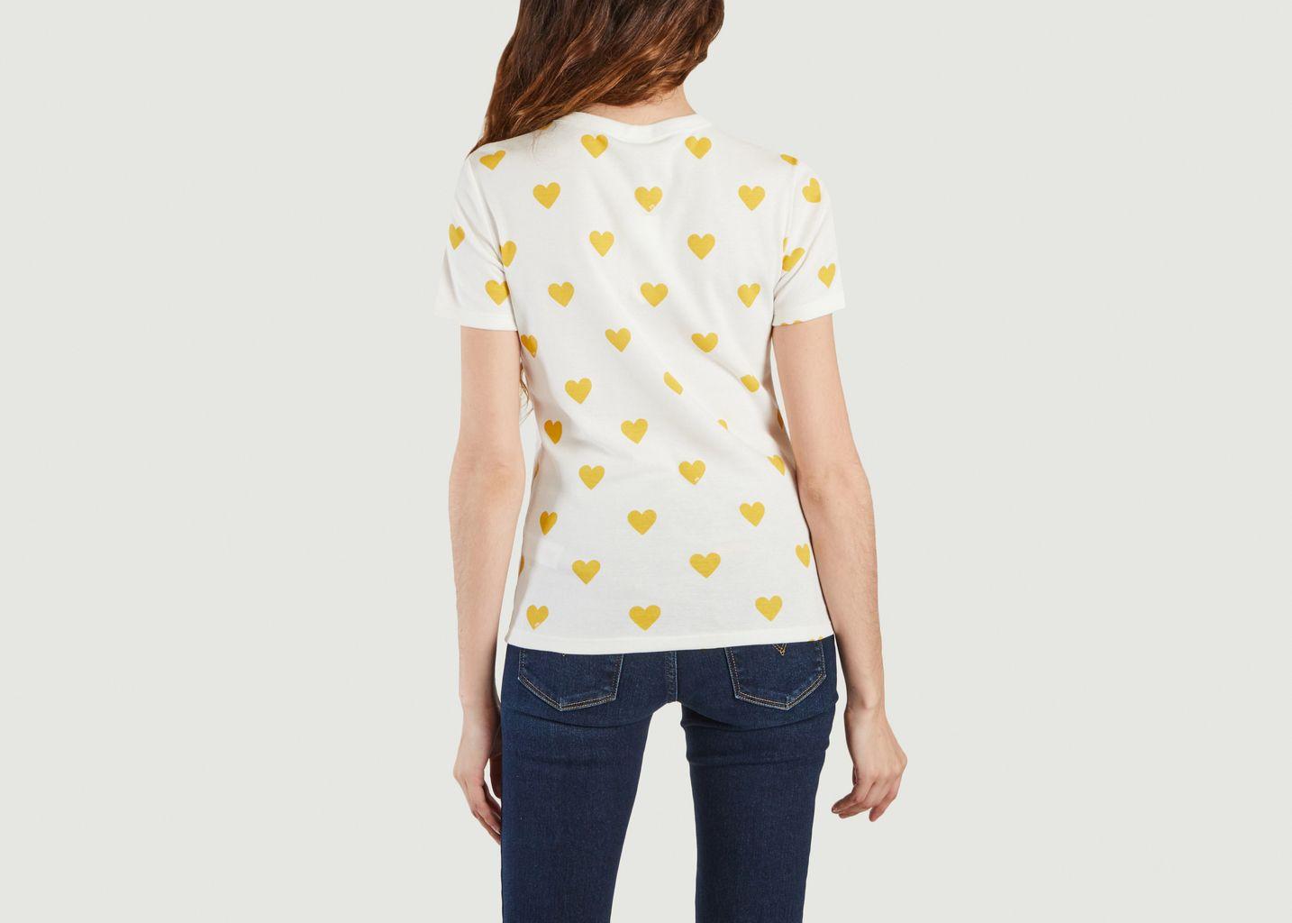 T-shirt coeurs  - Petit Bateau