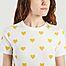 matière T-shirt coeurs  - Petit Bateau
