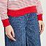 matière T-shirt marinière manches longues en coton - Petit Bateau