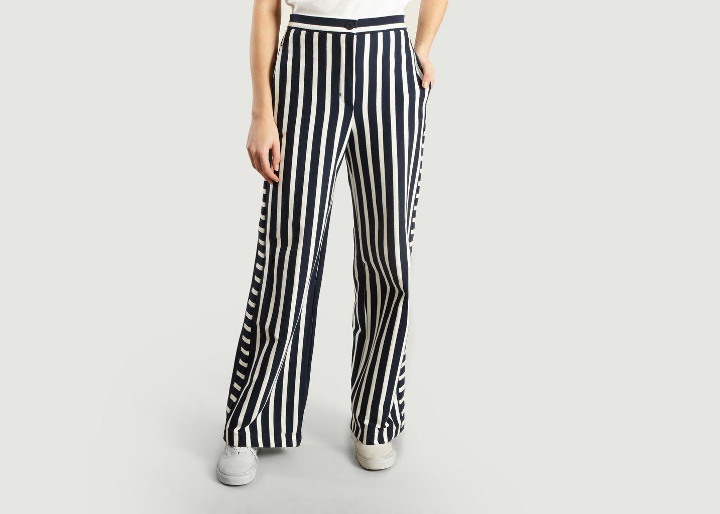 Pantalon Rayé Bowie - Petit Bateau