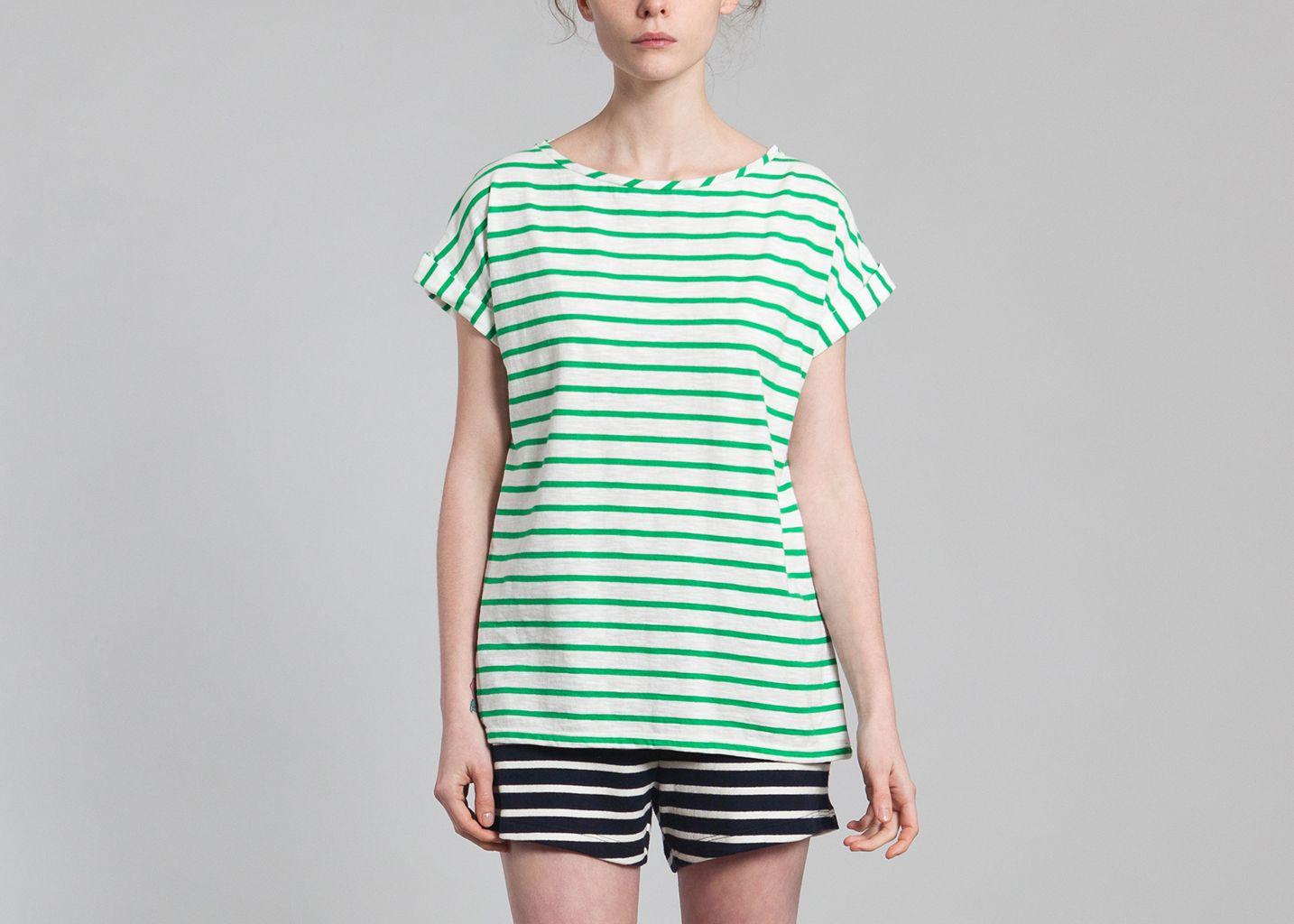 tshirt marini re petit bateau vert l 39 exception. Black Bedroom Furniture Sets. Home Design Ideas