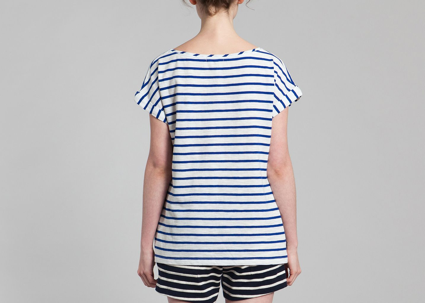 tshirt marini re petit bateau bleu l 39 exception. Black Bedroom Furniture Sets. Home Design Ideas