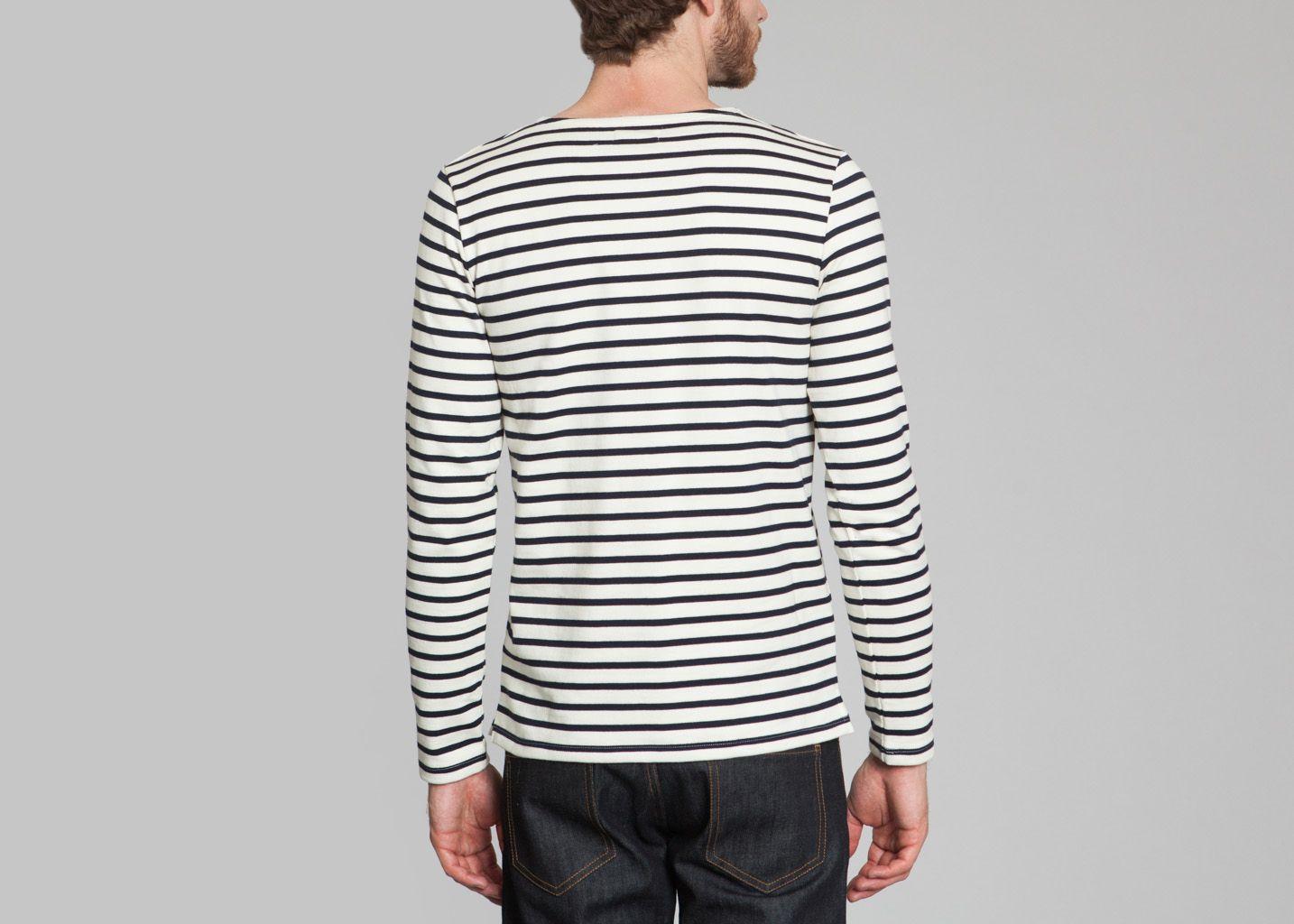 tshirt marini re petit bateau blanc l 39 exception. Black Bedroom Furniture Sets. Home Design Ideas