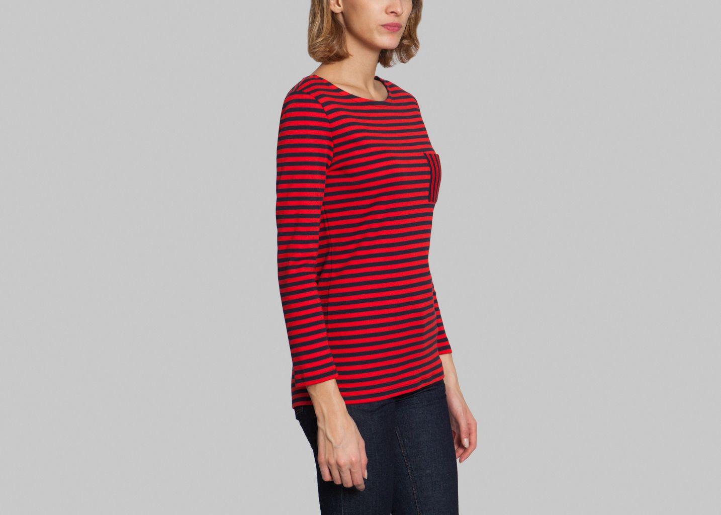 burkina t shirt petit bateau red l 39 exception. Black Bedroom Furniture Sets. Home Design Ideas