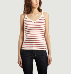 Striped Mariner Top