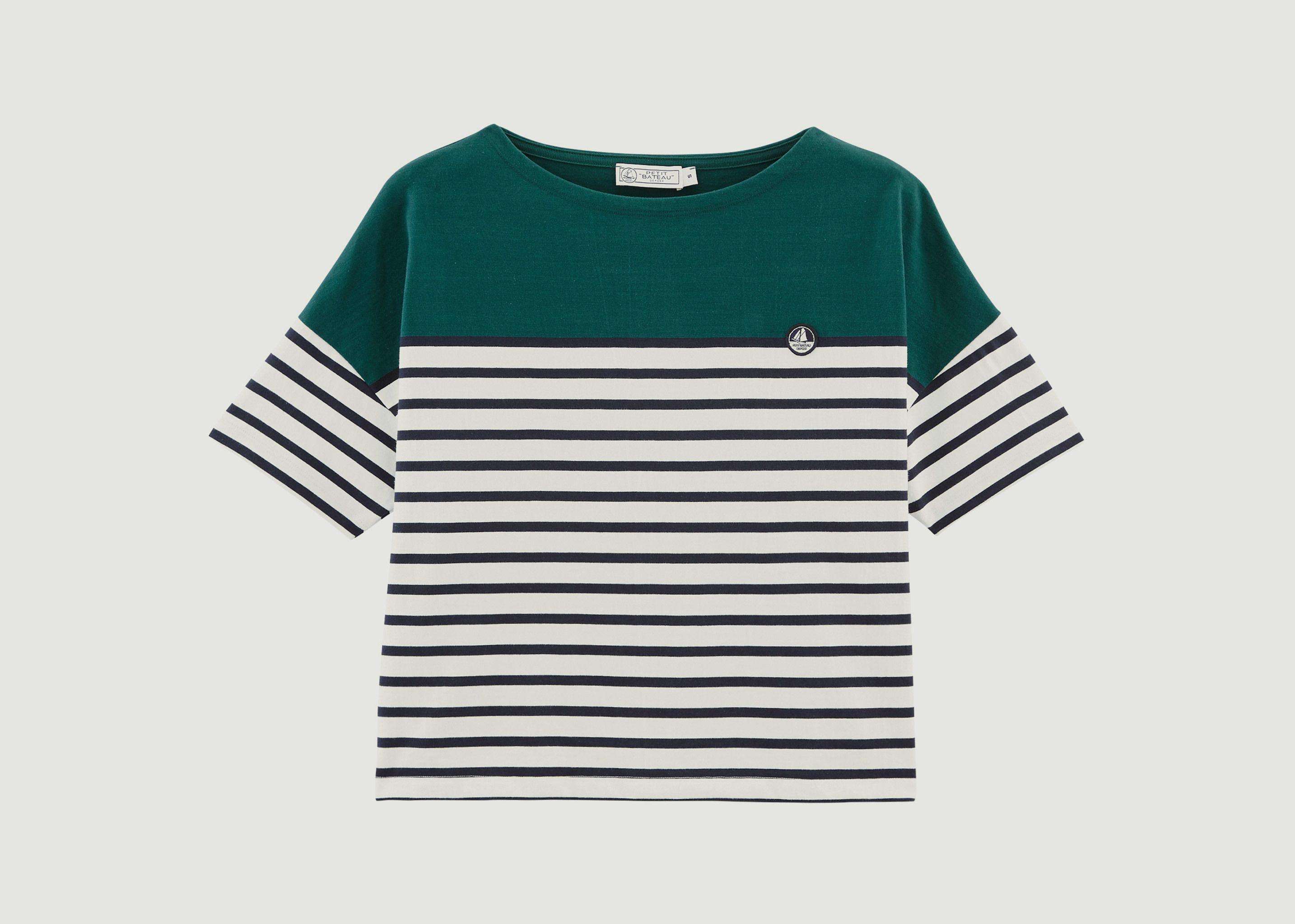 c059bd216ef Logo Mariner T-Shirt Multicolor Petit Bateau