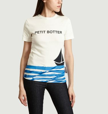 T-Shirt Petit Bateau x Duo Botter