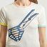 matière T-shirt Écume  - Petit Bateau