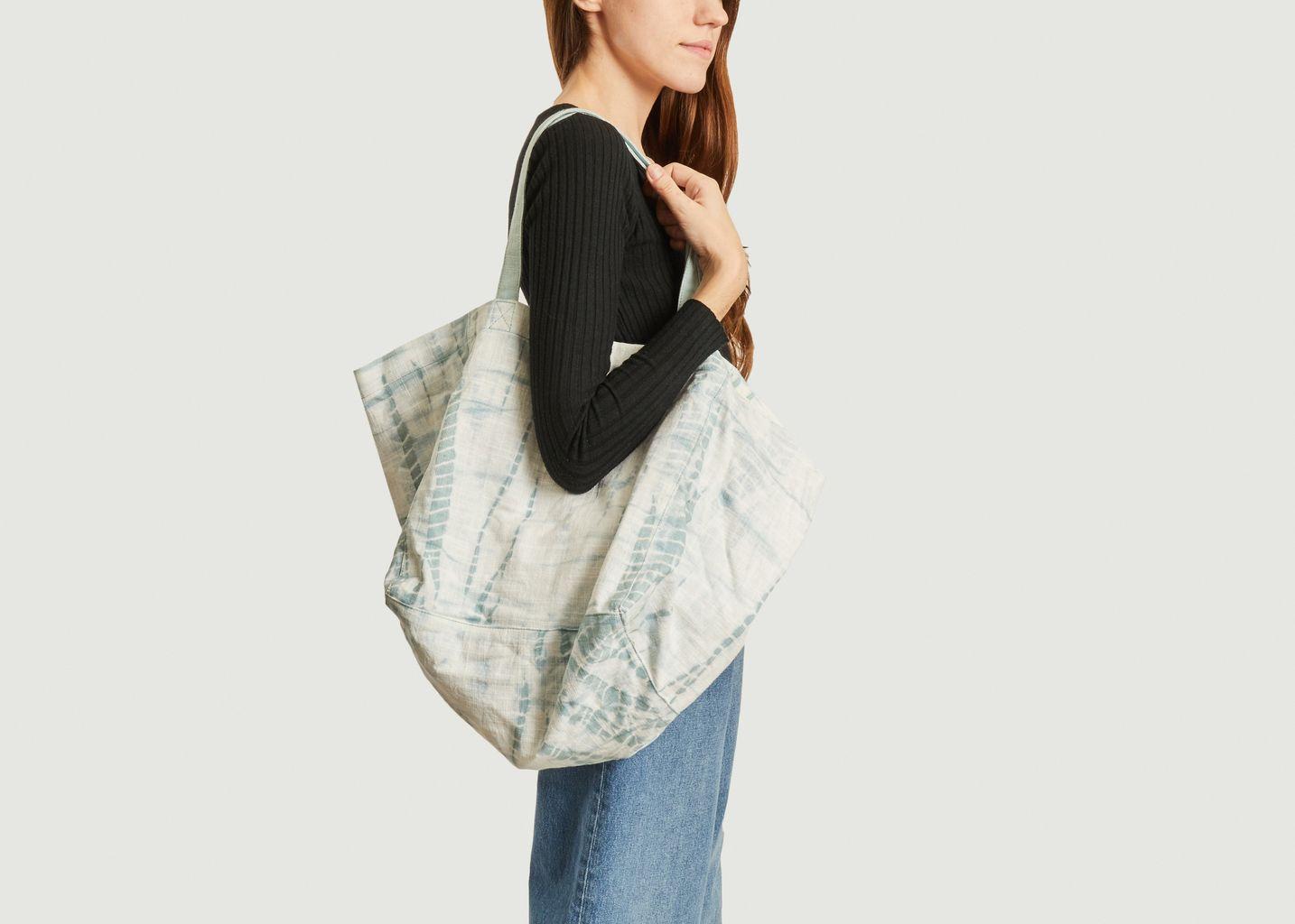 Grand sac cabas tie and dye en coton Aya Spider - Petite Mendigote