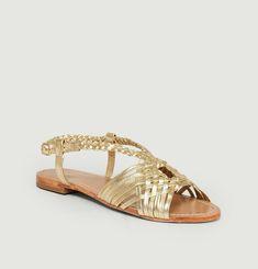 Sandales plates Fernando