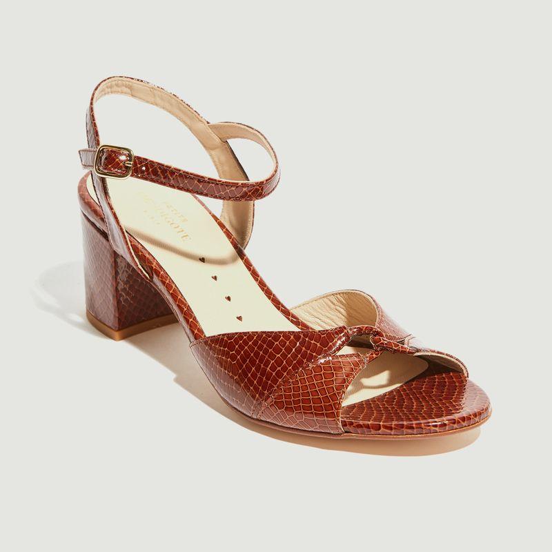 Sandales à talons Toni - Petite Mendigote