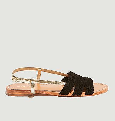 Sandales plates Vinicius