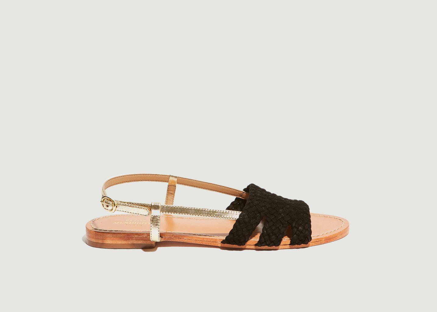 Sandales plates Vinicius - Petite Mendigote