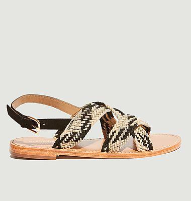 Sandales plates Murilo