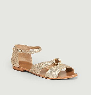 Sandales plates Manuel