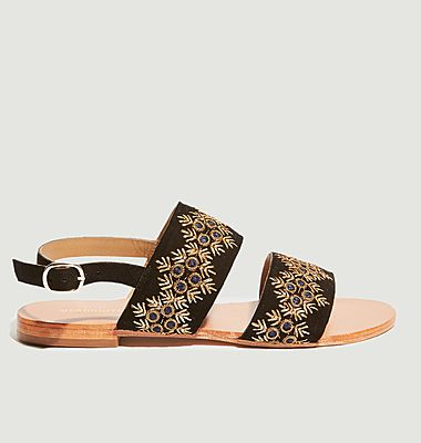 Sandales plates Juan