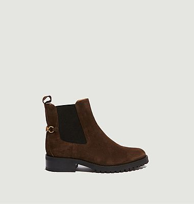 Chelsea boots en cuir suédé Milo