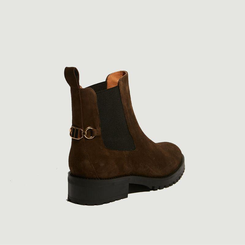 Chelsea boots en cuir suédé Milo - Petite Mendigote