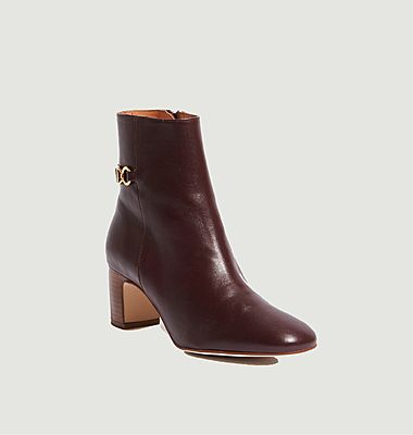 Boots en cuir Gianni