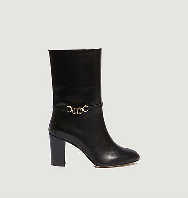 Boots en cuir Lilio