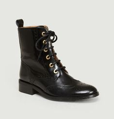 Bottines En Cuir Gabrielle