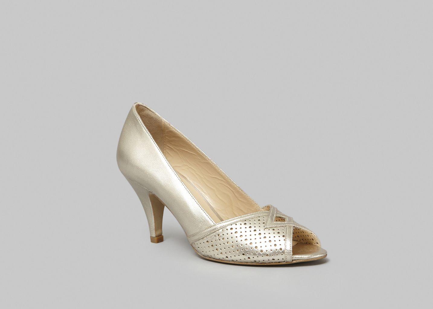 Passiflor Peep Toe Heels