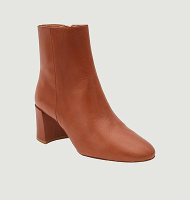 Claudette leather boots