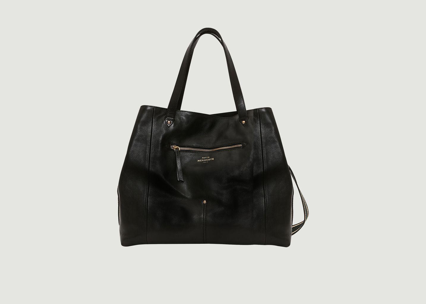 Grand sac en cuir Stan - Petite Mendigote