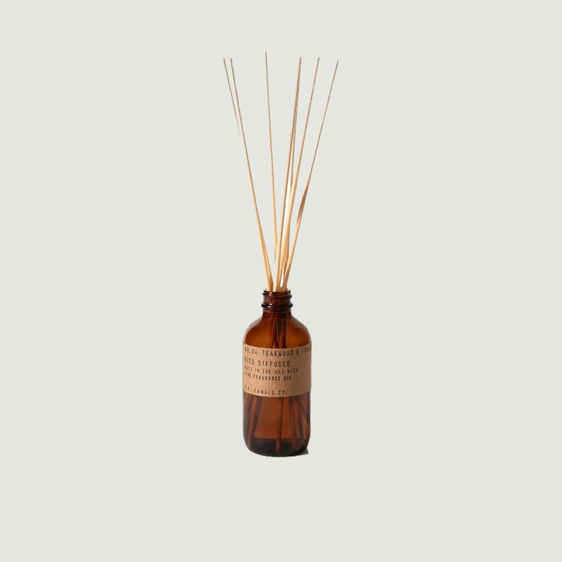 Diffuseur n°4 Teakwood & Tobacco - P.F. Candle CO.