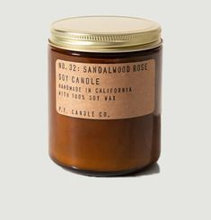 Bougie n°32 bois P.F. Candle CO.
