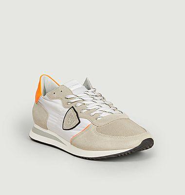 Sneakers de running cuir et nylon TRPX