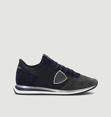 Sneakers en cuir et daim TRPX