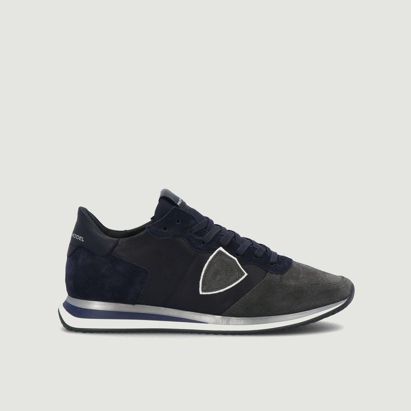 Sneakers en cuir et daim TRPX - Philippe Model