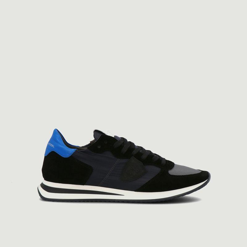 Sneakers daim et nylon TRPX - Philippe Model