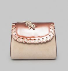 Patent and Suede Bag