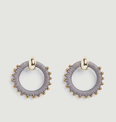 Boucles d'oreilles Beaded Full Circle