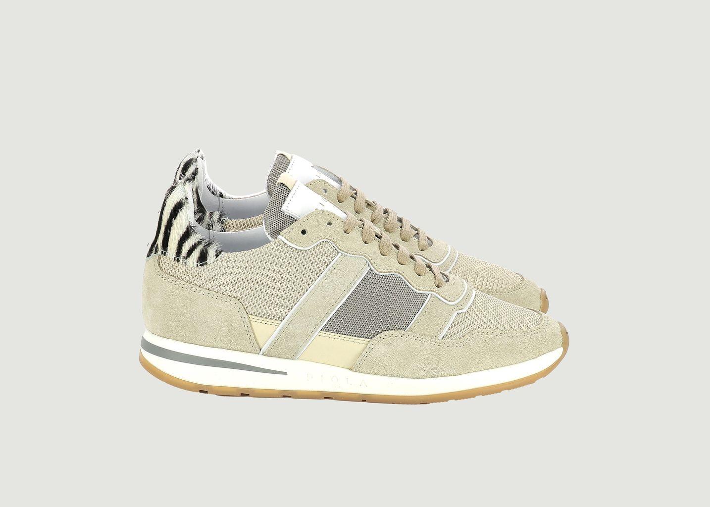 Sneaker Vida Zebra  - Piola