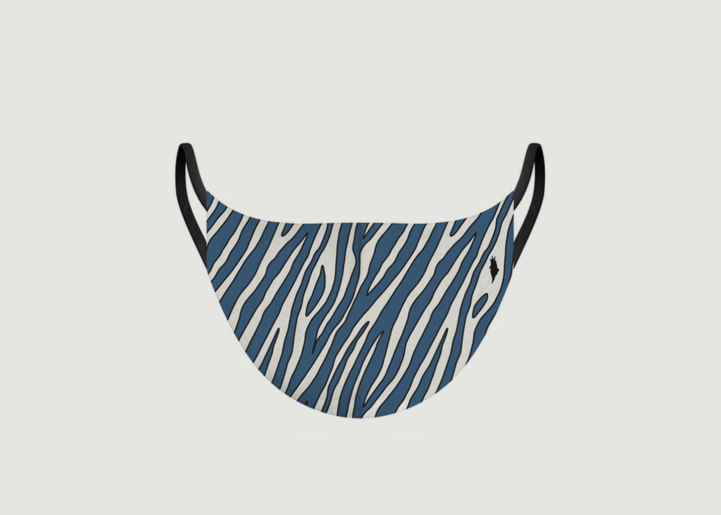 Masque en tissu motif zèbre - Pôdevache