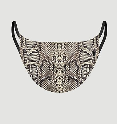 Animal Love Snake fabric mask