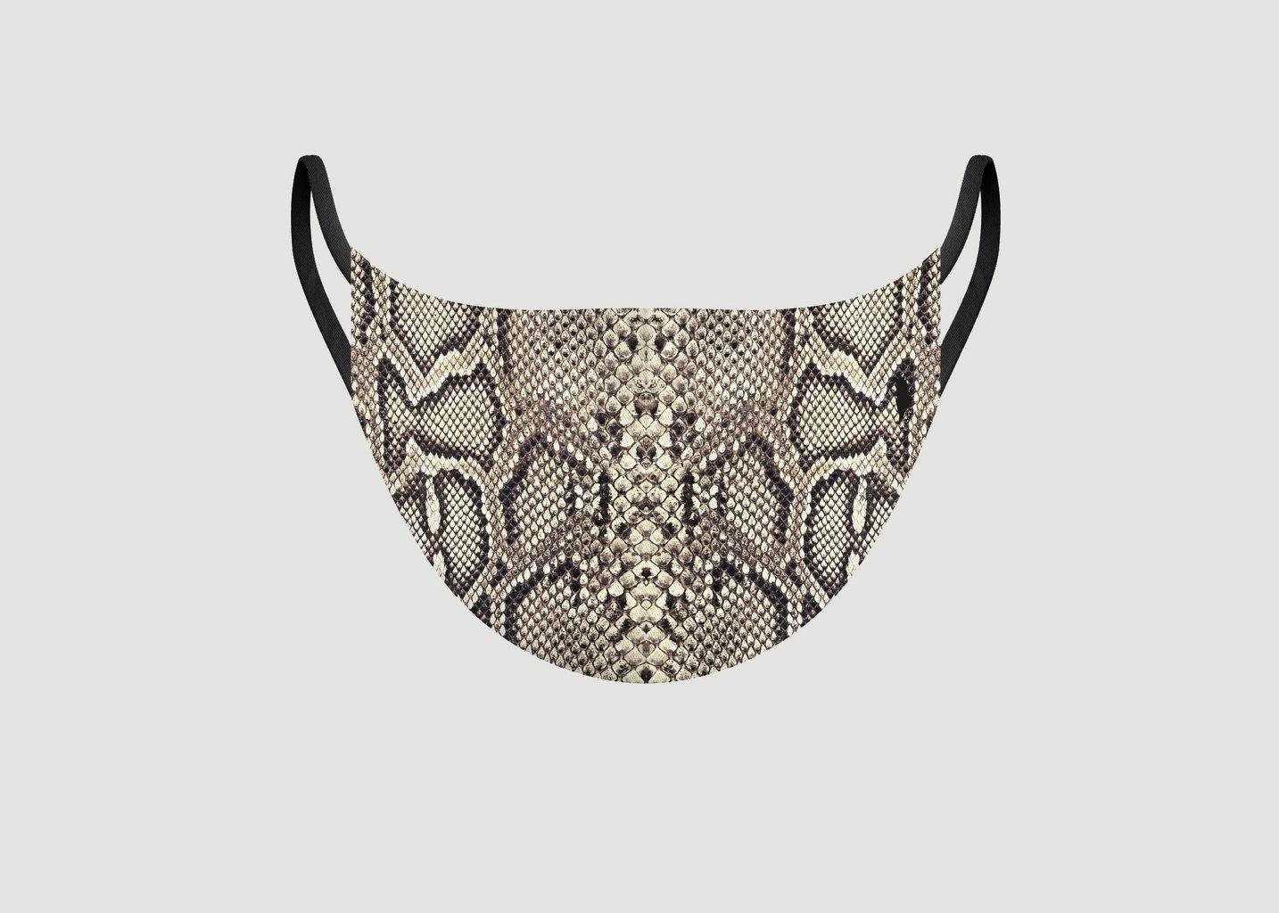 Masque en tissu Animal Love Snake - Pôdevache