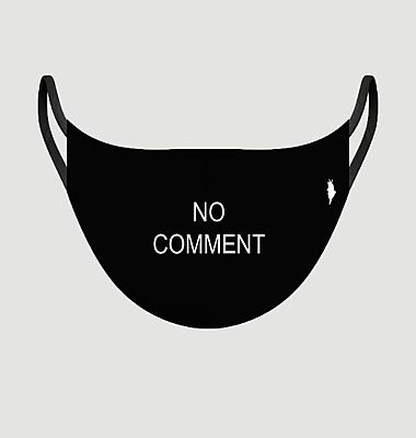 Utility No Comment fabric mask