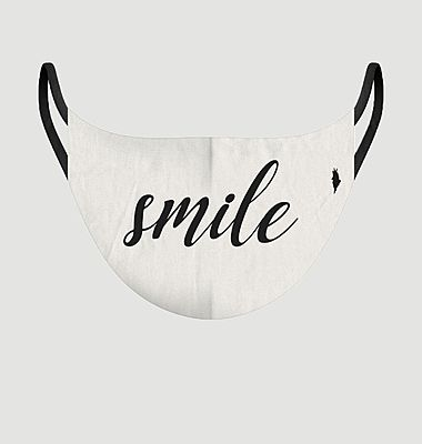Utility Smile fabric mask